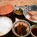 三亀 - 昼食