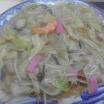 大善 - 皿うどん(細麺):750円