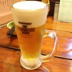 新田や - 生ビール