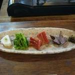はせ川 - おまかせ①前菜