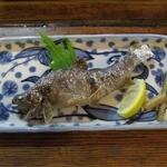 はせ川 - おまかせ④岩魚の塩焼き