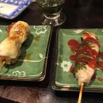 初かすみ酒房 - つくねチーズとささみ梅肉(2015/3)