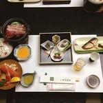 笹倉温泉龍雲荘  - 料理写真:今夜は温泉宿でまったり❗️