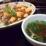 敦煌 - 麻婆豆腐丼セット