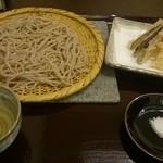 コソバテイ - 海老天ぷら蕎麦