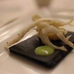 エノテーカ ピンキオーリ - 白魚のフリット