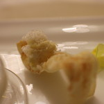 エノテーカ ピンキオーリ - 安納芋のパルジャーノのデコラ
