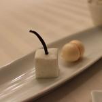 エノテーカ ピンキオーリ - にんじんのメレンゲ