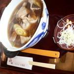 三條屋 - 肉南蛮そば(¥1000)