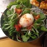 丹波亭 - サラダ。