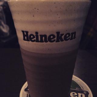 コンテナ カフェ&バー - ハイネケン グラスが素敵でした