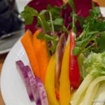 ナビリオ - 新鮮野菜のスティック バーニャカウダ【2015年2月】