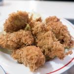 とんかつ赤煉瓦 - カキフライ定食