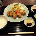 35709489 - 牡蠣フライ定食