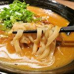 麺彩 藤 - 麺アップ