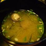 杉の井 - ☆大きめサイズの蜆のお味噌汁◎☆