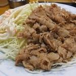 食事処 志野 - ニクシチは豚バラ薄切り使用