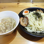 スープナッツ - 豚骨魚介つけ麺