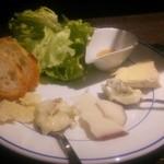 かるいごちそう - この日のお通しのチーズ
