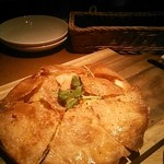 ブルー - タンドリーチキンのパイピザ