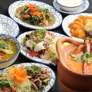 本場タイ国料理をご堪能ください