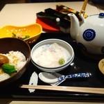 茶屋 青柳 - 名物 鯛胡麻茶漬け(2381円)
