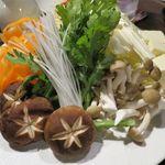 閤 - 鍋の野菜