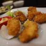 甲殻類倶楽部 - 濃厚カキフライ定食
