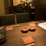 旬彩料理 てん - 4名様までの半個室