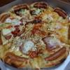 ピザハット - 料理写真:冬のプレミアム4(単品2,680円、チキンセット2,980円)+ソーセージクラスト(210円)