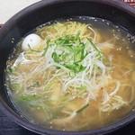 赤塚パーキングエリア(上り線) スナックコーナー - 「三河の鶏塩ら~麺」(700円)