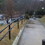 赤塚パーキングエリア(上り線) スナックコーナー - 一般道からのアクセス