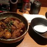 庄助 - 鶏もつ煮込み480円