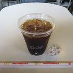 マクドナルド - ドリンク写真:プレミアムローストコーヒー アイス Sサイズ