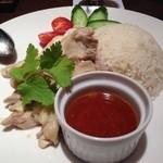 オリエンタルガーデン イサラ - 鶏飯(チキンライス)