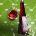 舟木酒造 - 木田の紫蘇を使っています。その名は、「しそびより」。