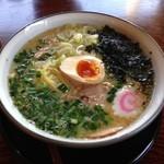 山本家 - 鶏白湯ラーメン ¥700