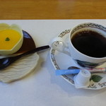 食彩どんぐり - 料理写真:デザートと、コーヒー