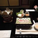 nihonryourioosakaukihashi - 温物:鯛しゃぶ