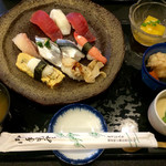 魚心亭 - 武蔵野陵にぎり