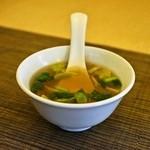 タイ国料理 チャイタレー - 2015.3 ランチのスープ