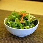 タイ国料理 チャイタレー - 2015.3 ランチのサラダ