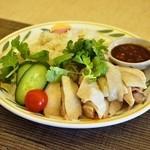 タイ国料理 チャイタレー - 2015.3 カオマンガイ(950円)日曜日限定!タイのチキンライス