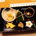 水月 - 料理写真:前菜