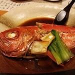 水月 - 金目鯛の煮つけ