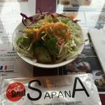 Asian Kitchen Sapana - ランチセットのサラダ