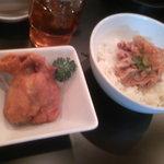 元祖 焼麺ちゃんぽん太郎 - 唐揚げと豚めし