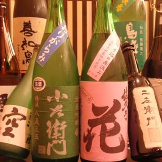 四季折々の地酒をお楽しみください!!