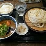 35730472 - カレーつけ麺(ひやあつ)&白ご飯