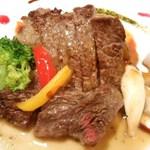 35731742 - お誕生日コース 国産牛のヒレローストと季節野菜のグリル